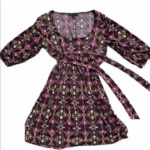 City Triangles Casual Paisley Dress